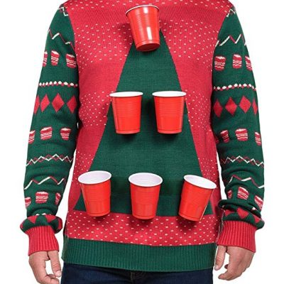 Beer pong christmas sweater - Fun Gifts For Him
