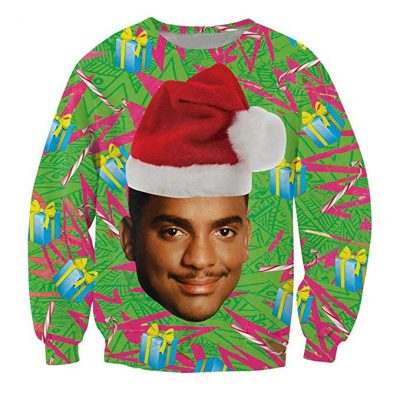Fresh Prince Ungly Christmas Sweater - Fun Gifts For Him