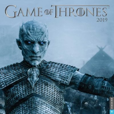 Game of Thrones 2019 Wall Calendar - Fun Gifts For Him