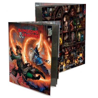 Officially Licensed Dungeons & Dragons Wizard Character Folio - Fun Gifts For Him