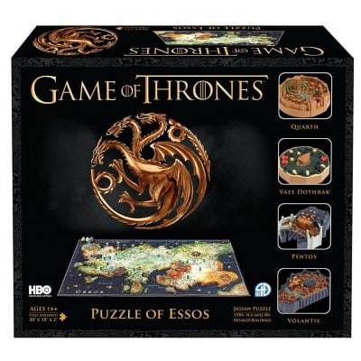 4D Game of Thrones : Essos Time Puzzle - Fun Gifts For Him