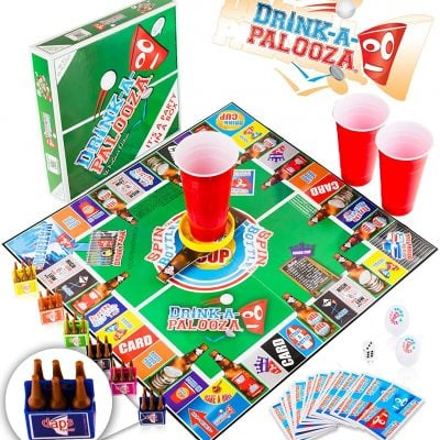 DRINK-A-PALOOZA Board Game - Fun Gifts For Him