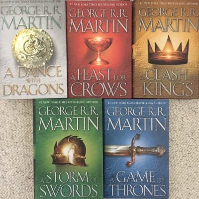 The complete set of books: A song of ice & fire - Fun Gifts For Him