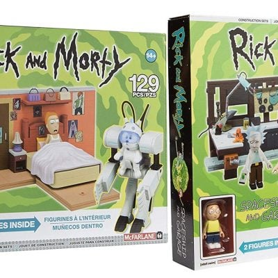 Rick & Morty Collectible bundle - Fun Gifts For Him
