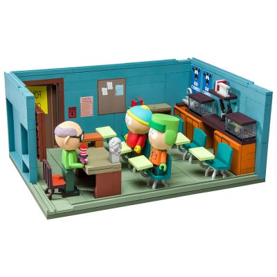 South Park The Classroom Large Construction Set - Fun Gifts For Him