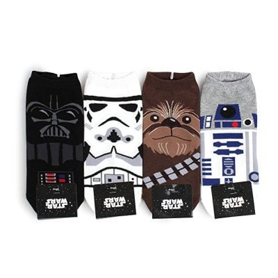 Star Wars Official Socks Collection - Fun Gifts For Him