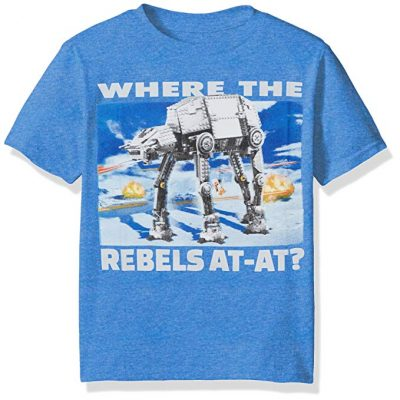 Star Wars Big Boys' Graphic T-Shirt - Fun Gifts For Him