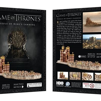 3D Kings Landing Puzzle - Fun Gifts For Him